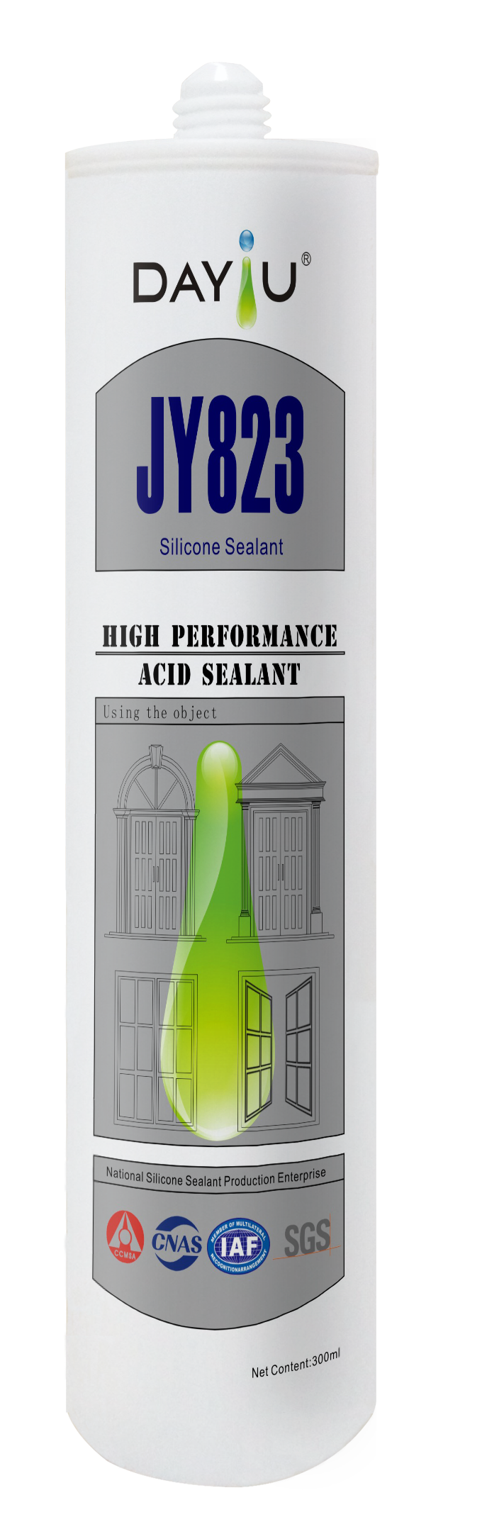 JY823 Super Performance Silicone Sealant